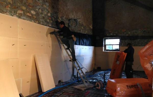 Chantier rénovation collonges