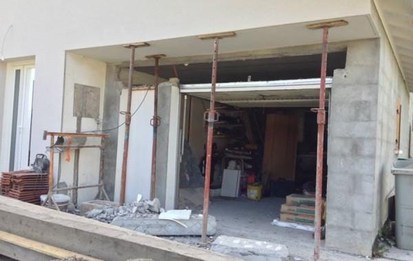 Extension porte de garage